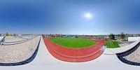 Virtuální Prohlídka Rekonstrukce Stadionu – Střecha Tribuny PO