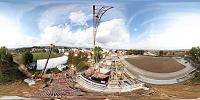 Virtuální Prohlídka Rekonstrukce Stadionu – Aero Pohled PŘED