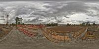 Virtuální Prohlídka Rekonstrukce Stadionu – Střecha Tribuny PŘED